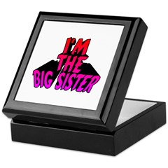 I'm the Big Sister Keepsake Box