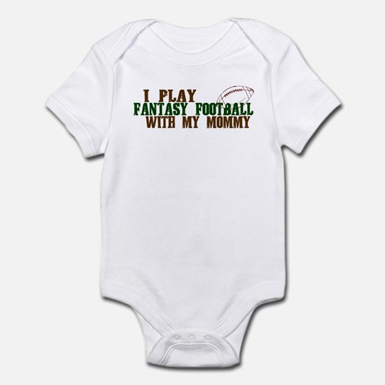 Fantasy Football with Mommy Infant Bodysuit