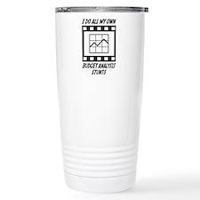 Budget Analysis Stunts Travel Mug