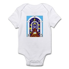Traveling to the Arch Infant Bodysuit