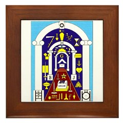 Traveling to the Arch Framed Tile