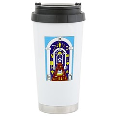 Traveling to the Arch Stainless Steel Travel Mug