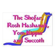 Rosh Hashanah Postcards (Package of 8)