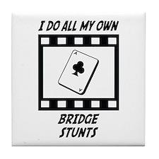 Bridge Stunts Tile Coaster