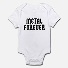 Metal Forever Infant Bodysuit