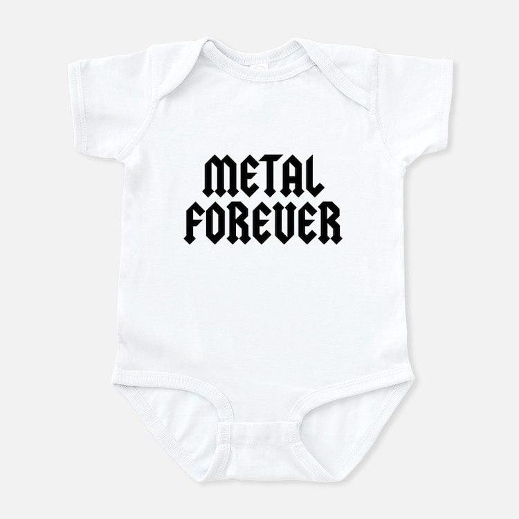 Metal Forever Infant Bodysuit