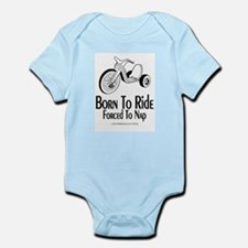 Born To Ride/Forced To Nap Infant Bodysuit