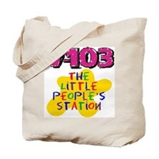 Little People's Station Tote Bag
