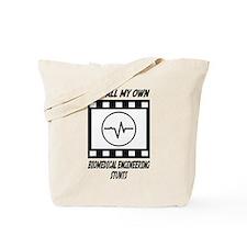 Biomedical Engineering Stunts Tote Bag