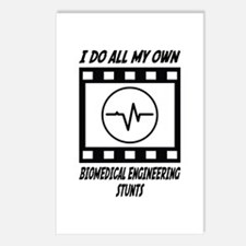 Biomedical Engineering Stunts Postcards (Package o
