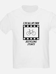 Bicycling Stunts T-Shirt