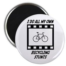 Bicycling Stunts Magnet