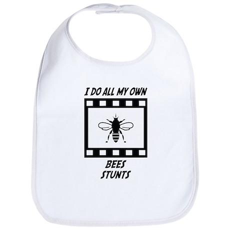 Bees Stunts Bib