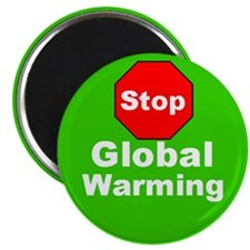 Stop Global Warming Environment Magnet