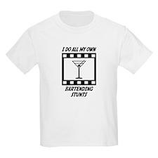 Bartending Stunts T-Shirt