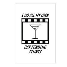 Bartending Stunts Postcards (Package of 8)