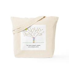 New Age Tree Wisdom Tote Bag