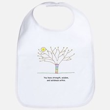 New Age Tree Wisdom Bib