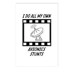 Avionics Stunts Postcards (Package of 8)