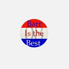 barr knows best Mini Button