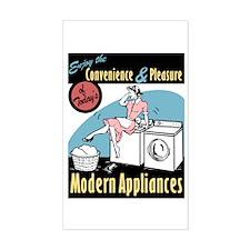 Convenience & Pleasure of Modern Appliances Sticke