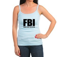 FBI - Female Body Inspector Jr.Spaghetti Strap