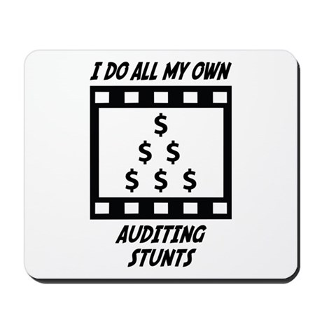 Auditing Stunts Mousepad