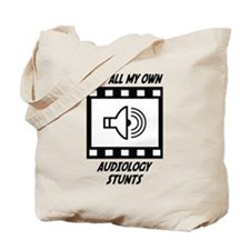 Audiology Stunts Tote Bag