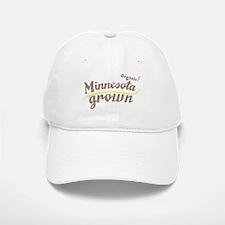 Organic! Minnesota Grown! Baseball Baseball Cap