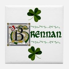 Brennan Celtic Dragon Ceramic Tile
