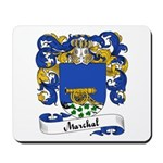 Marchal Family Crest Mousepad