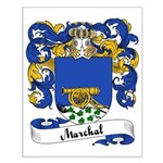 Marchal Family Crest Small Poster