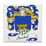 Marchal Family Crest Tile Coaster