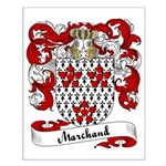 Marchand Family Crest Small Poster