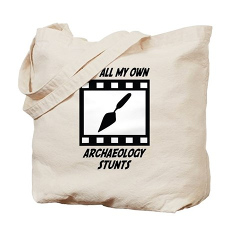 Archaeology Stunts Tote Bag