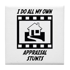 Appraisal Stunts Tile Coaster