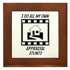 Appraisal Stunts Framed Tile