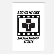 Anesthesiology Stunts Postcards (Package of 8)