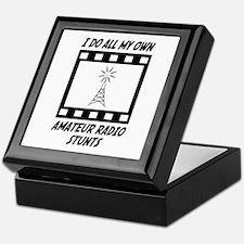 Amateur Radio Stunts Keepsake Box