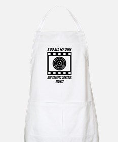 Air Traffic Control Stunts BBQ Apron