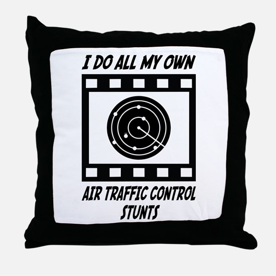 Air Traffic Control Stunts Throw Pillow
