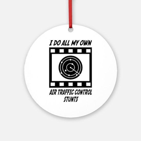 Air Traffic Control Stunts Ornament (Round)
