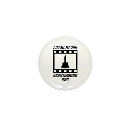 Aerospace Engineering Stunts Mini Button (100 pack