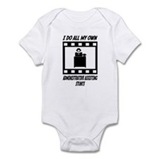 Administrative Assisting Stunts Infant Bodysuit
