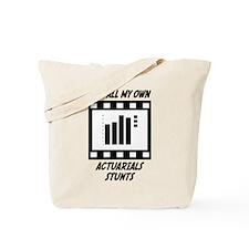 Actuarials Stunts Tote Bag