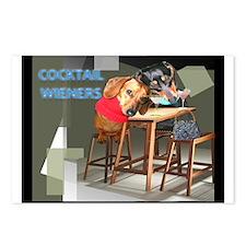Cocktail Wieners Postcards (Package of 8)