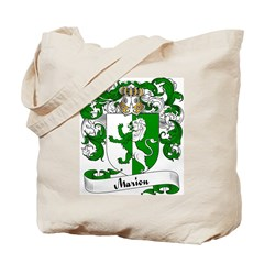 Marion Family Crest Tote Bag