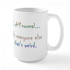 I AM Normal Mug