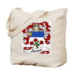 Marquet Family Crest Tote Bag