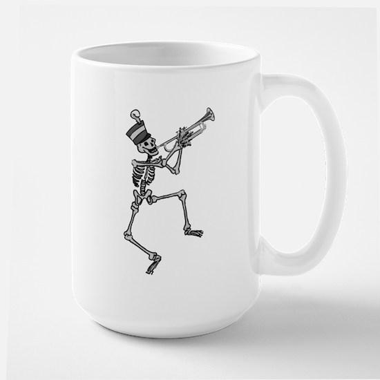 Skeleton Trumpet Large Mug